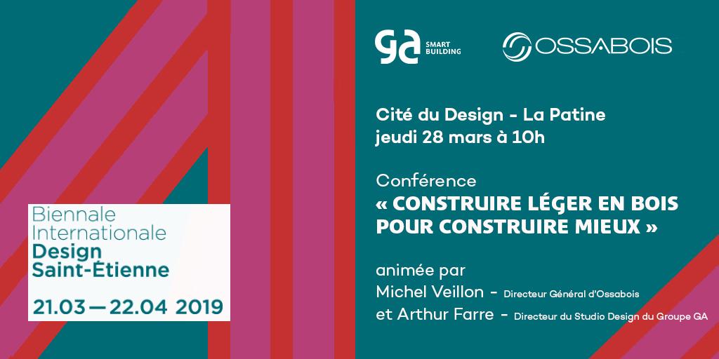 Biennale internationale design Saint-Etienne : construire léger en bois pour construire vite et mieux