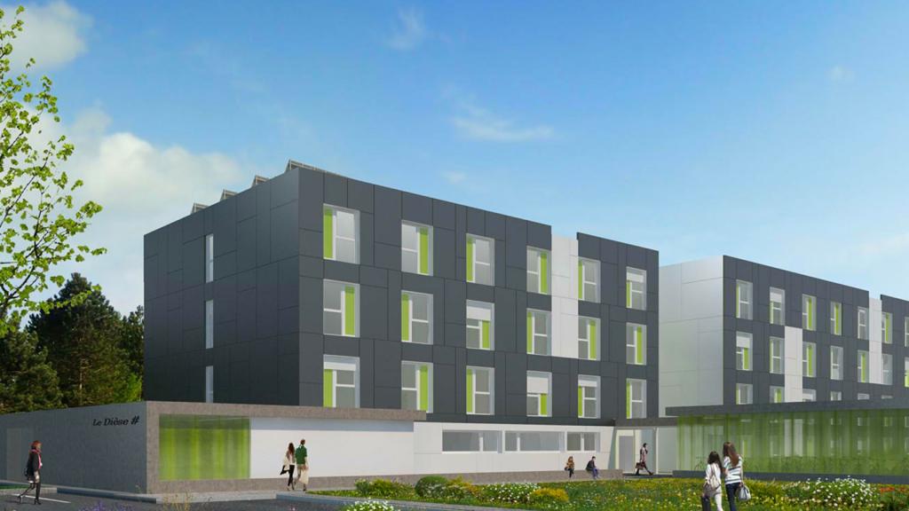 Ossabois construit 100 logements étudiants à Rosières Près Troyes