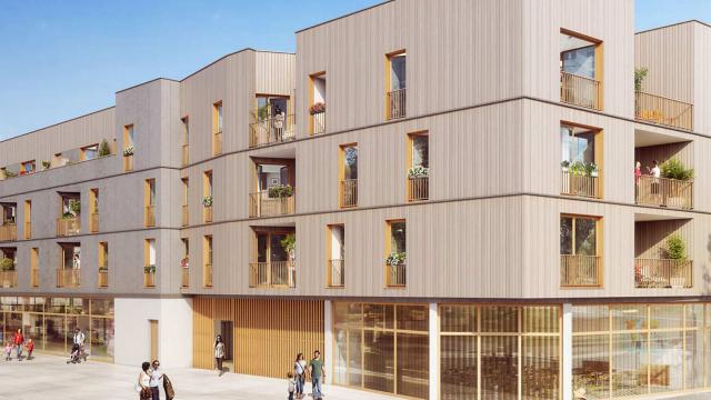 Ossabois va construire 56 logements collectifs et 24 maisons individuelles groupées à Bessancourt, dans le Val-d'Oise (95)