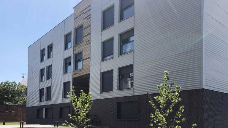 Foyer d'hébergement pour travailleurs à Montreuil pour Coallia Habitat