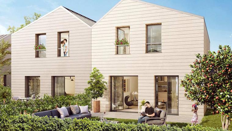 Ossabois construira 36 maisons individuelles groupées à ossature bois à Cergy