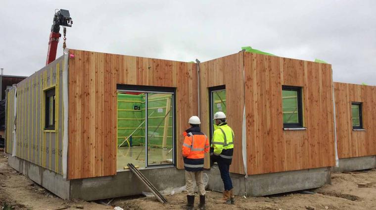 Maison Ossabois : le projet Icade et Cobe à Cergy