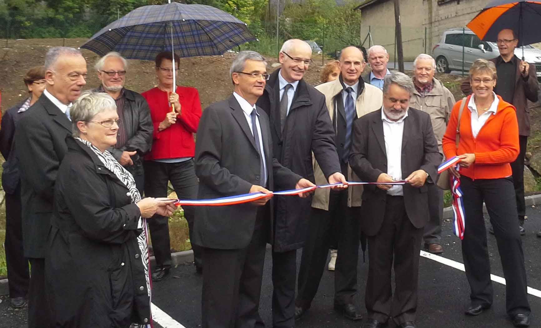 Inauguration de 56 logements collectifs BBC à Gresy sur Aix (73)
