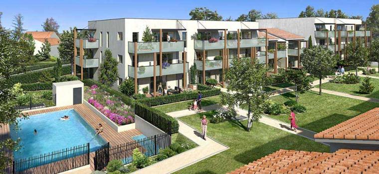 77 logements en bois à Lentilly (69)