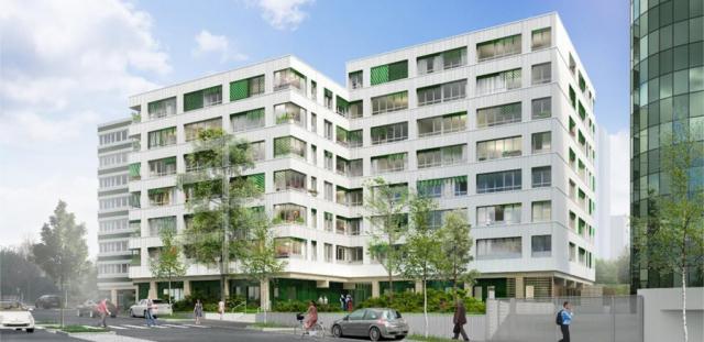 Ossabois transforme deux immeubles de bureaux en logements à Pantin