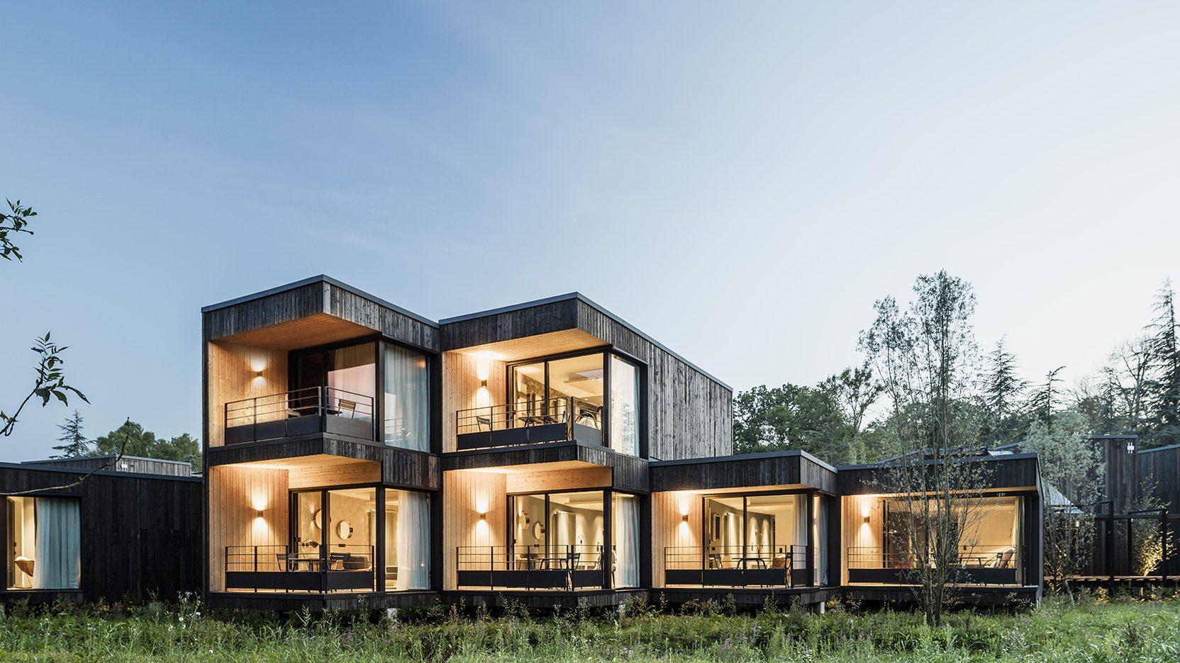Résidence hôtellière en bois