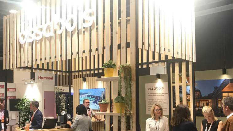 Venez découvrir les projets et la nouvelle identité d'Ossabois au salon H'Expo à Paris