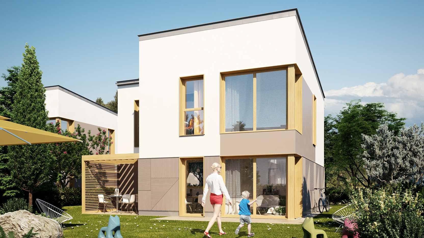 Garden Wood : Ossabois va construire 32 maisons individuelles groupées à Bussy Saint Georges, en Seine-et-Marne