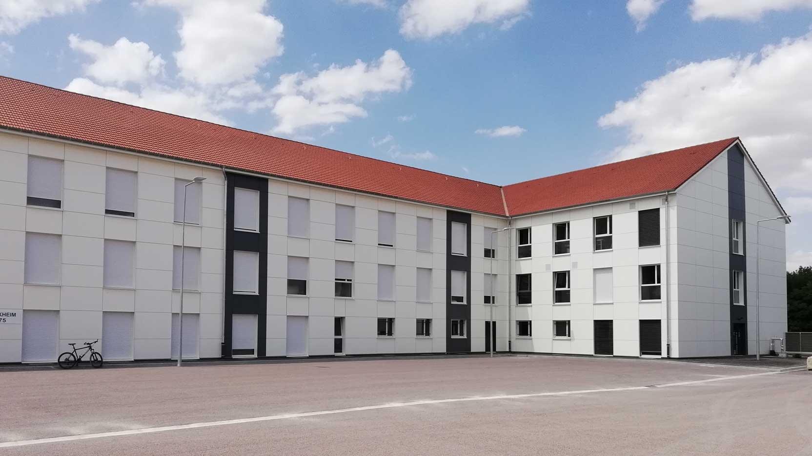 4 632 modules en bois pour moderniser des casernes de l'Armée de Terre dans toute la France avec le projet CATALPA