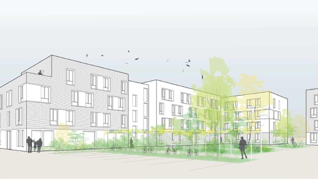 283 logements en modulaire bois en R+3 à Sartrouville (78)
