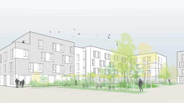 A Sartrouville, nous nous apprêtons à réaliser 283 logements bois sous hautes contraintes